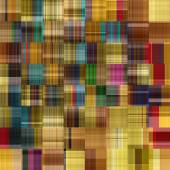 Art abstract colorful geometric pattern, tiled background in gol — Stock Photo