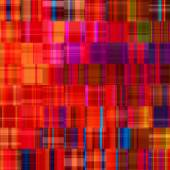 Art abstract colorful geometric pattern, tiled background in red — Stock Photo
