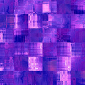 Art abstract colorful geometric pattern, tiled background in vio — Stock Photo