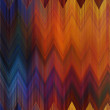 Art abstract colorful zigzag geometric vertical seamless pattern — Stock Photo #65341777