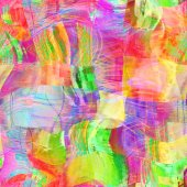 Art abstract colorful chaotic waves seamless pattern, background — Zdjęcie stockowe