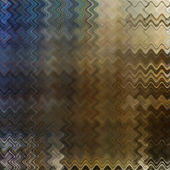 Art abstract colorful zigzag geometric pattern background in bro — Stock Photo