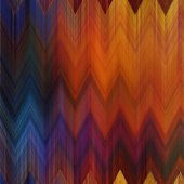 Art abstract colorful zigzag geometric vertical seamless pattern — Stock Photo
