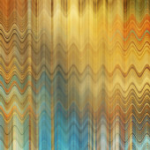 Art abstract colorful zigzag geometric pattern background in gol — Stock Photo
