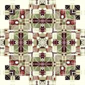 Deco Arte ornamental vintage, S.2, monocromo de fondo — Foto de Stock