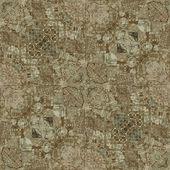 Art deco ornamental vintage pattern, S.5, monochrome background — Stock Photo