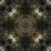 Art deco ornamental vintage pattern, S.11, monochrome background — Stock Photo