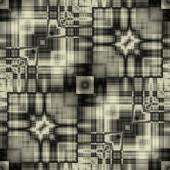 Art deco ornamental vintage pattern, S.56, monochrome background — Stock Photo