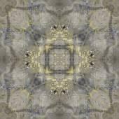 Art nouveau ornamental vintage  pattern, S.8, monochrome waterco — Stock Photo