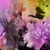 艺术丰富多彩 grunge 花卉水彩纸纹理背景 — 图库照片