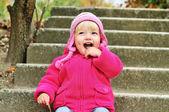 Funny child — Stock Photo