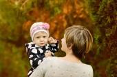 Mãe e sua filhinha — Fotografia Stock
