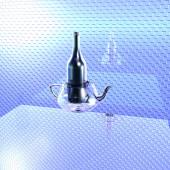 玻璃罐玻璃瓶 — 图库照片