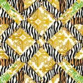 Seamless patterned pattern - texture — Stockvektor