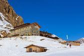 Bergen skigebied - innsbruck oostenrijk — Stockfoto