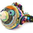 Knitted toy fish — Stock Photo #51951153