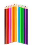 πολύχρωμα μολύβια — Φωτογραφία Αρχείου