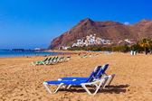 Beach Teresitas in Tenerife - Canary Islands — Foto de Stock