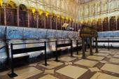 Interior of Cathedral in Toledo Spain — Stock Photo