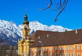 старый город в инсбруке австрия — Стоковое фото