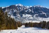 Mountains ski resort Bad Hofgastein - Austria — Stock Photo
