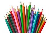 Multicolored pencils — Stock fotografie