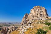 Uchisar Castle in Cappadocia Turkey — Stock Photo