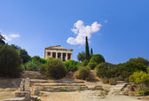Ancient Agora at Athens, Greece — Stock Photo