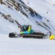 Snowplow at Mountains ski resort - Innsbruck Austria — Stock Photo #53012141