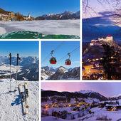 Collage of Austria images — Stockfoto