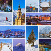 Collage of Austria images — Foto Stock