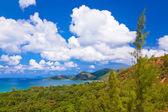Landscape of island Praslin - Seychelles — Stock Photo