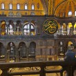 Mosaic interior in Hagia Sophia at Istanbul Turkey — Stock Photo #53637979