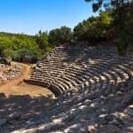 Old amphitheater Phaselis in Antalya, Turkey — Stock Photo #53637983