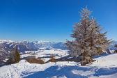 Mountains ski resort St. Gilgen Austria — Stock Photo
