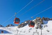 Mountains ski resort - Innsbruck Austria — Stock Photo