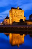 Old fortress in Bergen Norway — Stock Photo