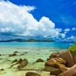 Tropical island at Seychelles — Stock Photo #54083761