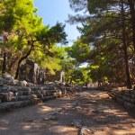 Old town Phaselis in Antalya, Turkey — Stock Photo #54261115