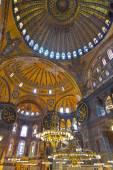 Hagia sophia wnętrza hotelu istanbul turcja — Zdjęcie stockowe