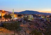 Sunset in Cappadocia Turkey — Stock Photo