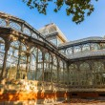Crystal Palace at Madrid Spain — Stock Photo #54338075