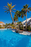 Water pool at Tenerife island — Stock Photo
