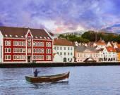 Stavanger - Norway — Stock Photo