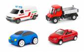 Set of cars — Stock Photo