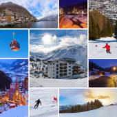 Collage of Austria images — Stock Photo