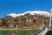 Funicular in Innsbruck Austria — Stock Photo