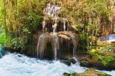 Waterfall Duden at Antalya Turkey — Stock Photo