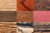 Wood backgrounds set — Stock Photo