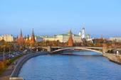 Kremlin on sunset in Moscow Russia — Stockfoto